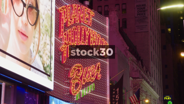 Planet Hollywood Restaurant In Times Square, New York City
