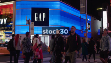 Gap Store On Broadway In New York City, USA