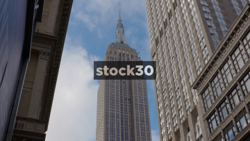 Empire State Building Timelapse, New York, USA