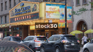 The Ford Center Oriental Theatre In Chicago, USA