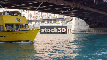 A Chicago Water Taxi From Wendella, USA