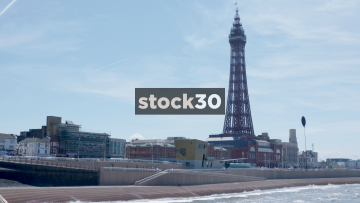 Blackpool Seafront And Tower, UK