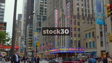 Radio City Music Hall In New York, USA