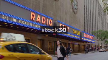 Radio City Music Hall In New York, Close Ups, USA