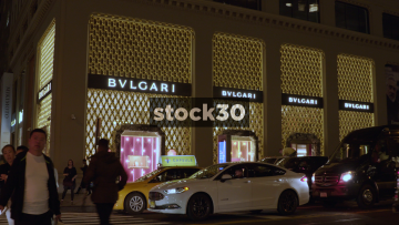 Bulgari Jewelry Store In New York, USA