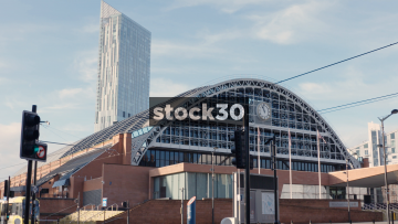 Manchester Central Convention Complex And Beetham Tower, UK