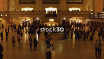 Grand Central Station New York Timelapse, USA