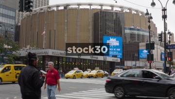 Madison Square Garden Arena In New York, USA