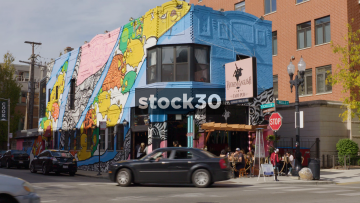 The Broken English Taco Pub In Chicago, USA