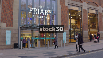 The Friary Shopping Mall In Guildford, UK