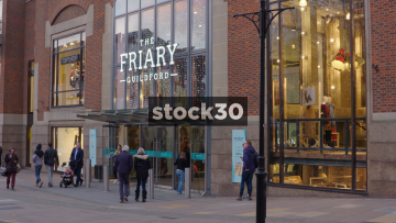 The Friary Shopping Mall In Guildford, Main Entrance, UK