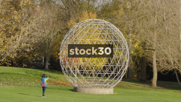 Sphere Sculpture At Southampton University, UK