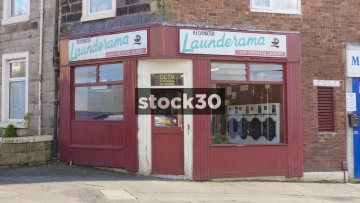 Coin Operated Launderette In Blackburn, UK