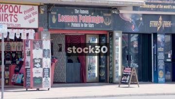 Blackpool Leonara Petulengro Palmist, Fortune Teller Booth, UK