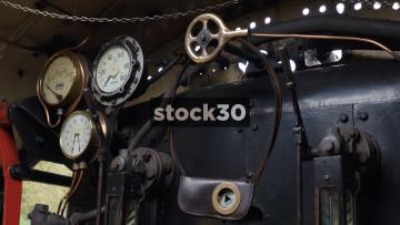 Steam Train Footplate Cutaways, UK