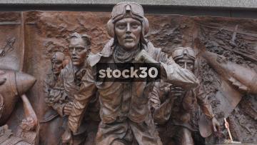 Battle Of Britain War Memorial Close Ups Part 1, UK