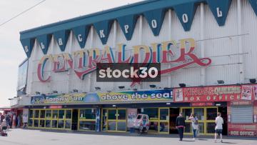 Blackpool Central Pier Entrance, UK