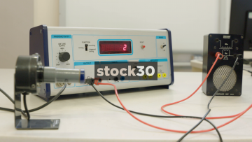 Radioactivity Meter Measuring Background Radiation