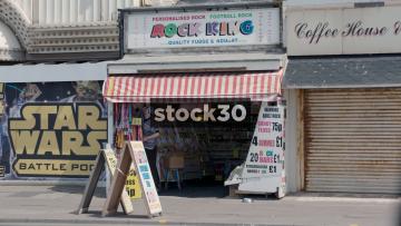 Blackpool Rock King Stall, UK