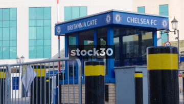 Britannia Gate At Stamford Bridge In London, UK