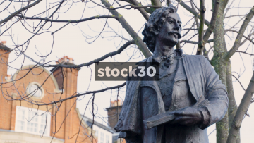 Statue of James McNeill Whistler In London