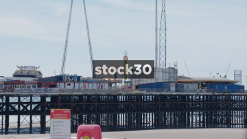 Blackpool South Pier Close Up, UK
