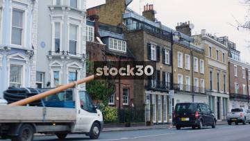 120 Cheyne Walk In Chelsea, Sylvia Pankhurst's Former Home In London, UK