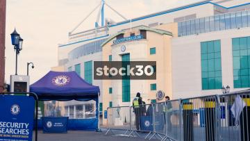 Chelsea Football Club In London, UK