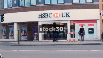 HSBC On Church Street In Liverpool, UK | Stock30
