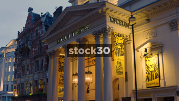 The Lyceum Theatre On Wellington Street In London, UK