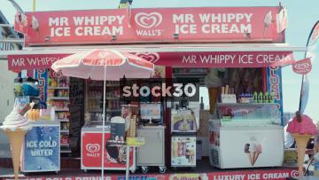 Mr Whippy Ice Cream Stall, Blackpool, UK