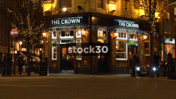 The Crown Pub On Short's Gardens In London, UK