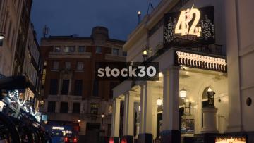 The Theatre Royal On Drury Lane In London, UK