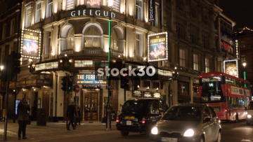 The Gielgud Theatre On Shaftesbury Avenue In London, UK
