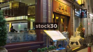 The Golden Phoenix Restaurant In Chinatown, London, UK