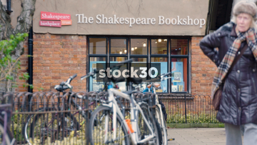 The Shakespeare Bookshop In Stratford-Upon-Avon, UK