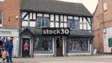 The Nutcracker Christmas Shop In Stratford-Upon-Avon, UK