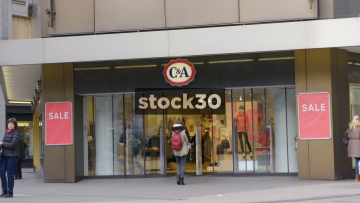 C&A Department Store On Uraniastrasse In Zürich, Switzerland