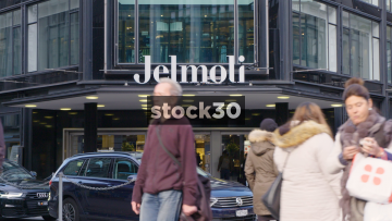 Jelmoli Department Store On Bahnhofstrasse In Zürich, Switzerland