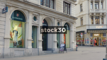 Victorinox Flagship Store On Rennweg In Zürich, Switzerland