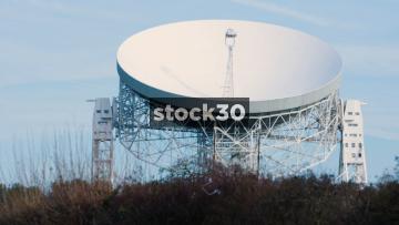 The Lovell Radio Telescope At Jodrell Bank In Cheshire, UK