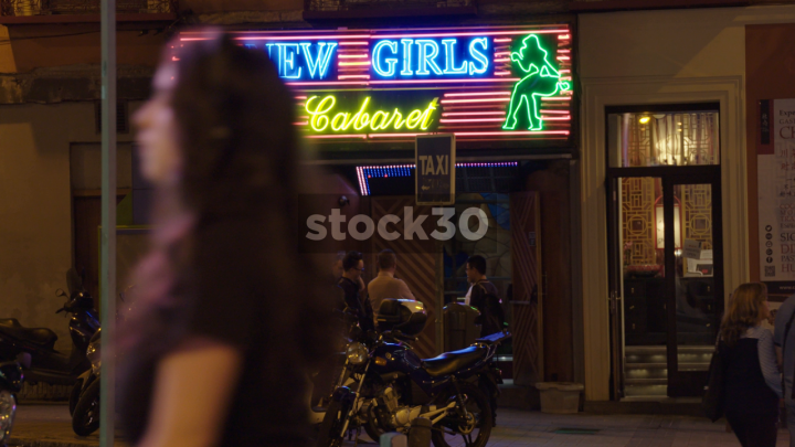 New Girls Cabaret Club On Gran Vía In Madrid Spain Stock30