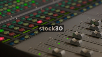 Motorised Faders On Avid ICON D Control And S6 Control Surfaces