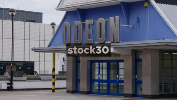The Odeon Cinema In Sheffield, UK