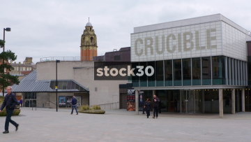 The Crucible Theatre In Sheffield, UK