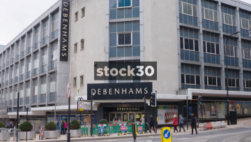 Debenhams Department Store In The Moor Quarter, Sheffield