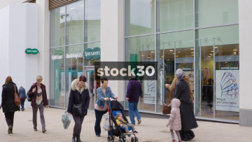 Specsavers Opticians In the Moor Quarter, Sheffield, UK