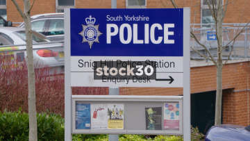 South Yorkshire Police Snig Hill Police Station In Sheffield, UK