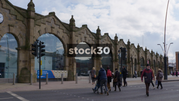 Sheffield Railway Station, UK