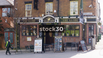 The Globe Inn Public House In Sheffield, UK